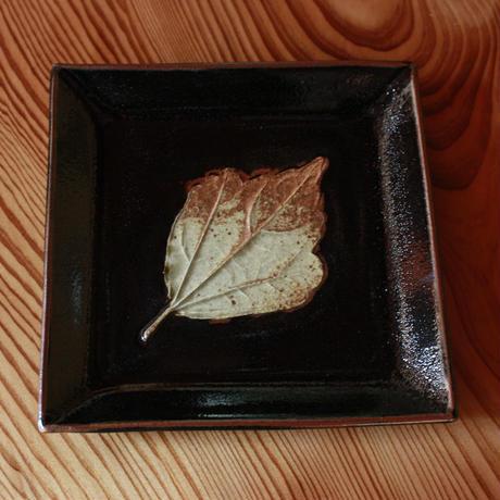 中里太郎右衛門窯 木の葉銘々皿(むくげ)