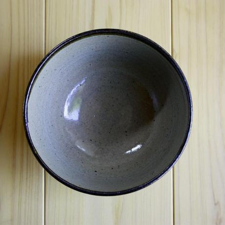 中里太郎右衛門窯 絵唐津茶碗 (皮鯨)