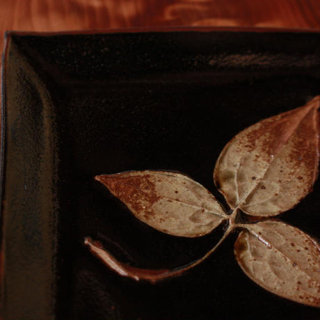 中里太郎右衛門窯 木の葉銘々皿(てっせん)