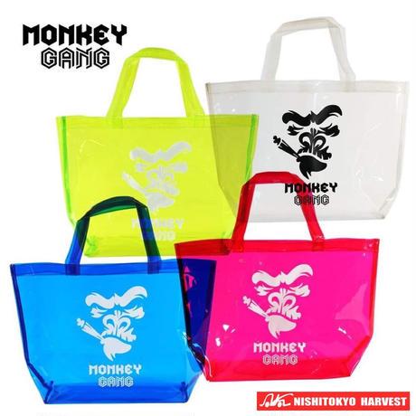 【ピンク】MONKEY GANG ビニールバック