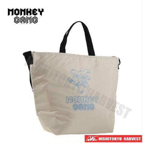 【アイボリー】MONKEY GANG 保冷バッグ