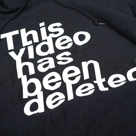 【This video has been deleted】パーカー
