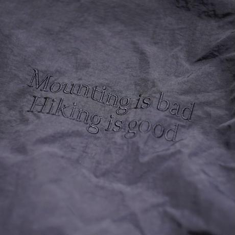 【池尻ハイキングクラブ】2021年に思ったことを言語化したアノラックフーディ