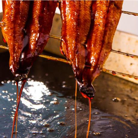 うなぎ四代目菊川「まるごと一本鰻 2本+肝焼き、骨せんべい入り(丸ごと一本セット)」#うなぎ四代目菊川
