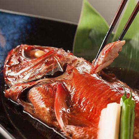 浜の湯名物「金目鯛姿煮」(1匹:内容量600g前後)#食べるお宿浜の湯