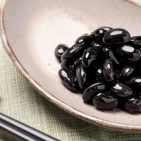 蓮オリジナル 丹波篠山産 黒大豆甘煮(瓶詰め2個セット) #神戸みなと温泉 蓮