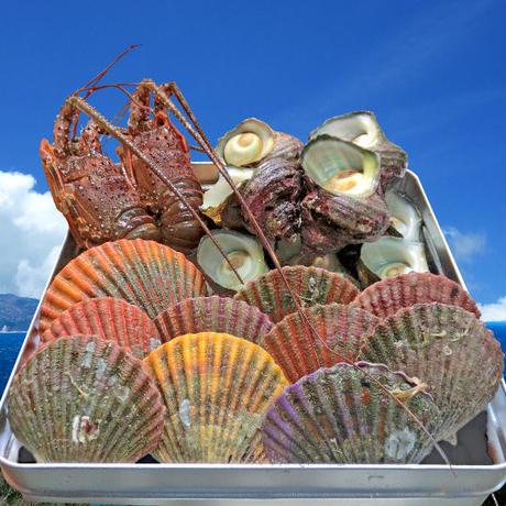 伊勢の豪華海鮮を詰め込んだカンカン焼きセット #鳥羽海鮮市場 海の駅黒潮