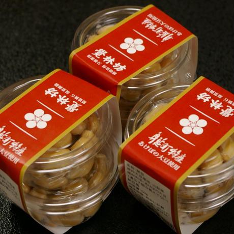 宿坊女将手作り「あけぼの大豆の自家製納豆」3個セット #覚林坊