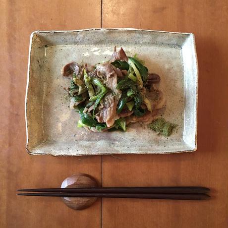 九条葱と丹波猪肉の山椒焼き(2人前) #すみや亀峰菴