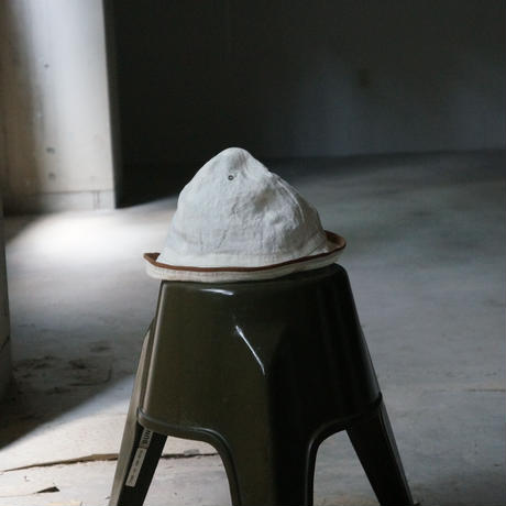 (STOCK) HATS 7 MOUNTAIN HAT 生成×BROWN LINEN
