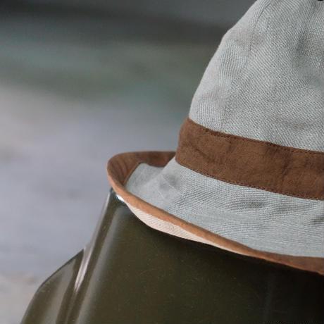 (STOCK) HATS 9 W HAT 生成×BROWN LINEN