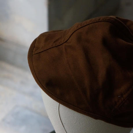 (STOCK) HATS 11 FRENCH WORK CAP BROWN