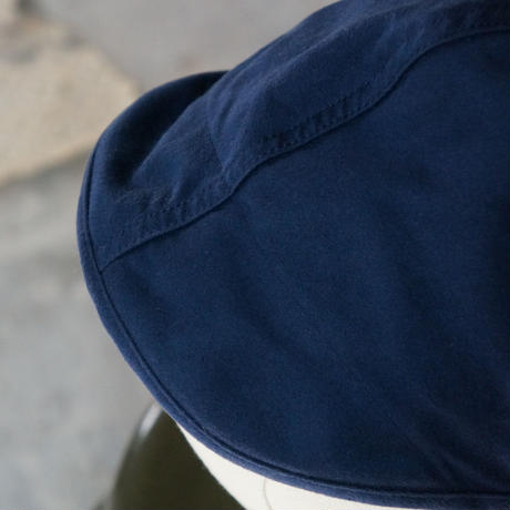 (STOCK) HATS 10 FRENCH WORK CAP BLUE