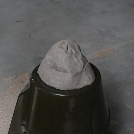 (STOCK)HATS 27 TWIST CAP ドビー BEIGI