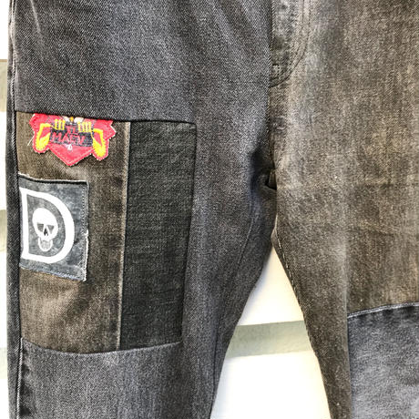 Children of the discordance  VIETNAM PATCH VINTAGE DENIM