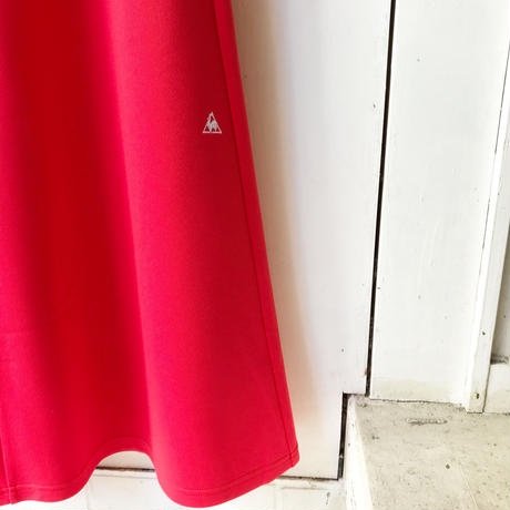 le coq sportif JERSEY SKIRT RED
