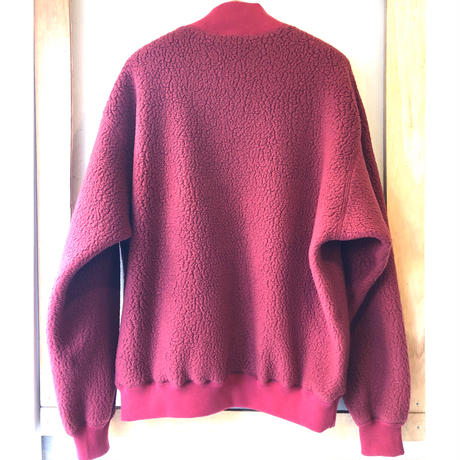Y.O.N.  POLARTEC  MOC Neck Fleece    RED