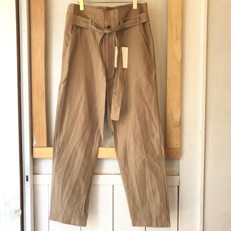 RICEMAN    BELTED PANTS
