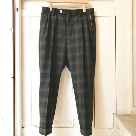 Y.O.N.    STANDARD TROUSERS    CHECK