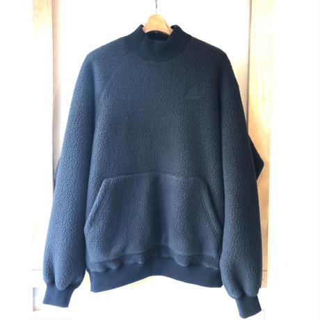 Y.O.N.  POLARTEC  MOC Neck Fleece    BLACK