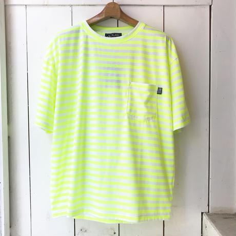 FLASHPACKER    ドロップショルダーボーダーTシャツ