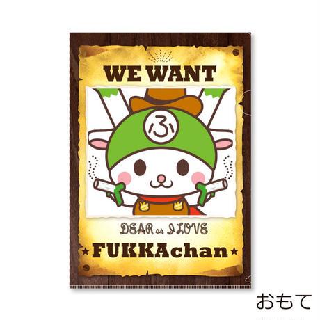 ふっかちゃん WE WANT FUKKAchan(I LOVE FUKKA-CHAN クリアファイル)