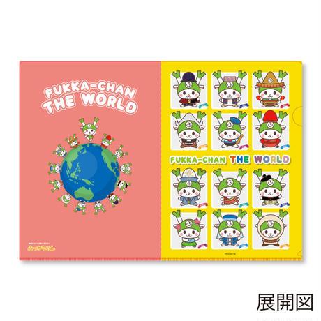 ふっかちゃん 世界の衣装(I LOVE FUKKA-CHAN クリアファイル)