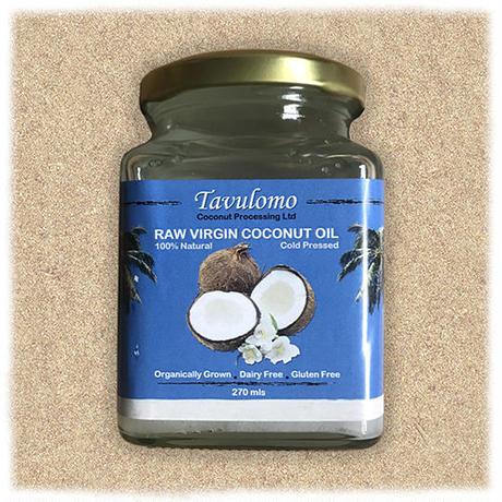 Tavulomo organic virgin coconut oil 270ml