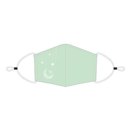 <アジャスター付き>マウスカバー/LIGHT GREEN