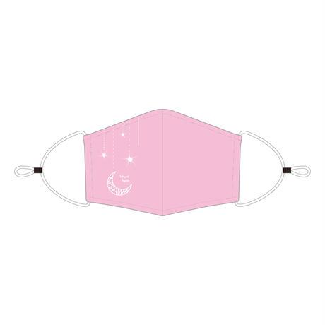<アジャスター付き>マウスカバー/LIGHT PINK