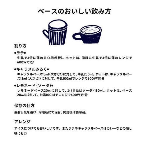 5/18-19日発送分 ラテベースギフトセット(Sweet & Black)