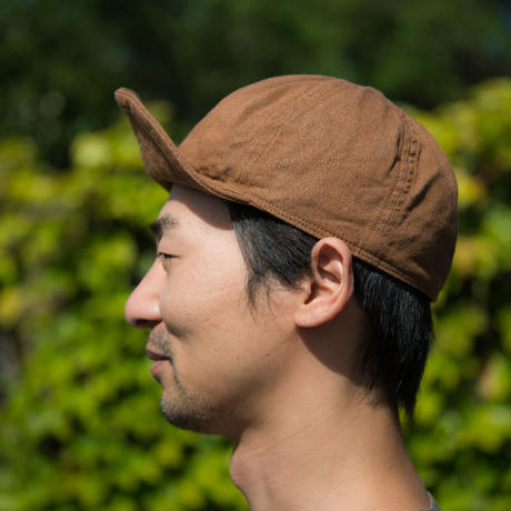 TCB40's CAP  Brown DENIM