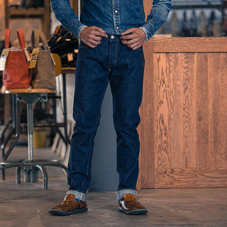 60's Slim Jeans/ One Washed