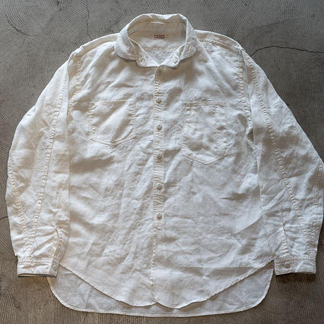 Detachable Collar Work Shirt