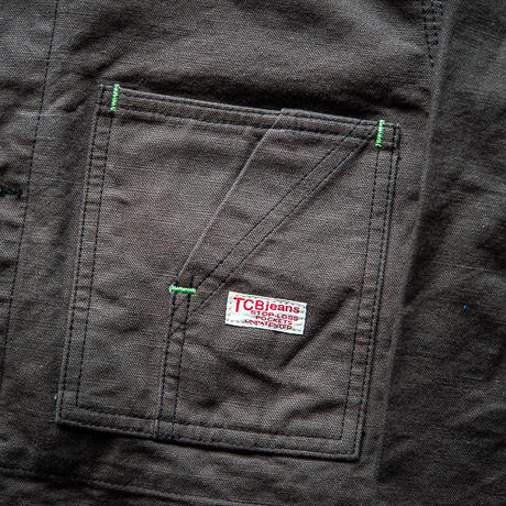 TCB TABBYS JACKET Charcoal Grey Duck
