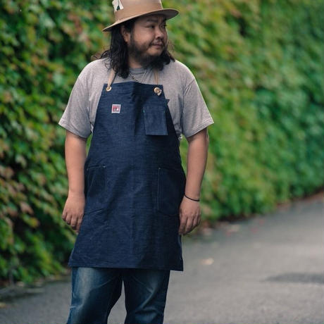 TCB WORK APRON  13OZ DENIM