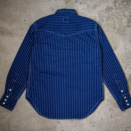 TCB RANCHMAN  Shirt  BLUE WABASH