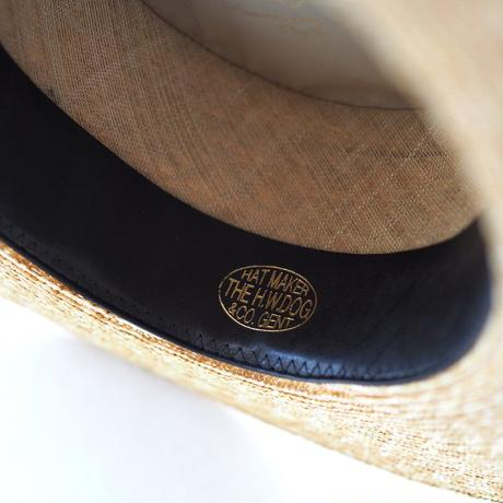H.W Dog/ D-00319 Boater Hat