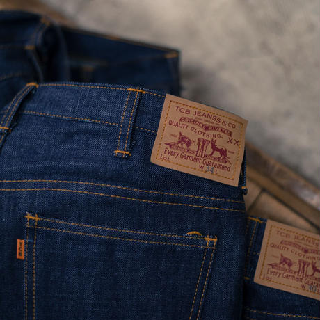 TCB Jeans Orange SUPER SLIMS / 606model