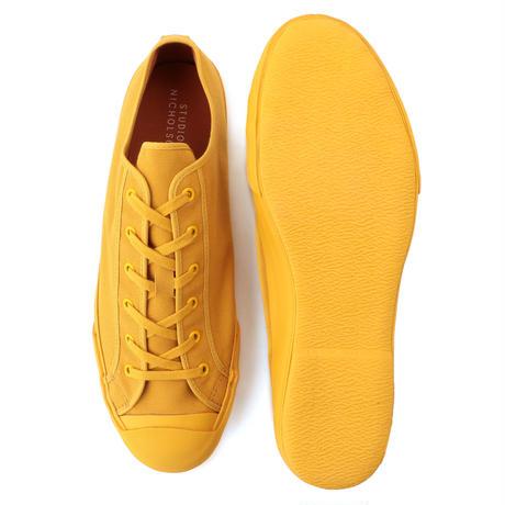 ☆  20SS / STUDIO NICHOLSON  /  Merino Vulcanised Sole Canvas Shoe (MUSTARD) ☆