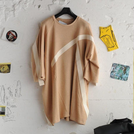 ★ House of the very island's / DECONSTRUCTED T-SHIRT WITH DOLMAN SLEEVES ★