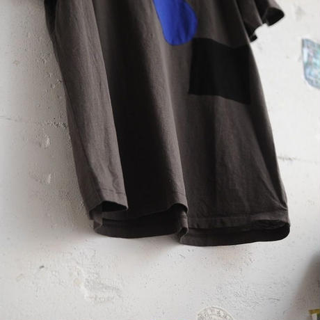★ CORRELL CORRELL (コレルコレル) / APPLI T SHIRTS  (OLD BLACK/SIZE / L) ★