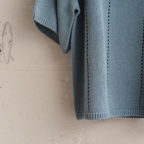 ★ 18SS EDWINA HORL / EH36KN-01 S/S KNIT(L.BLUE/M) ★