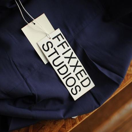 ★ FFIXXED STUDIOS / SCARF SHIRTS (NAVY)