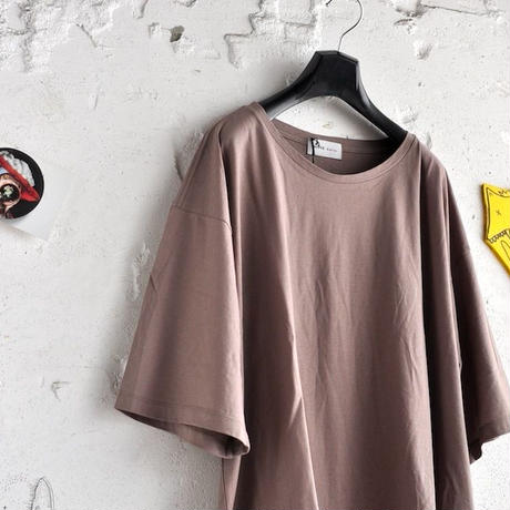 ★ SUPER Daily / ice cotton lc T shirt (MOCHA) ★