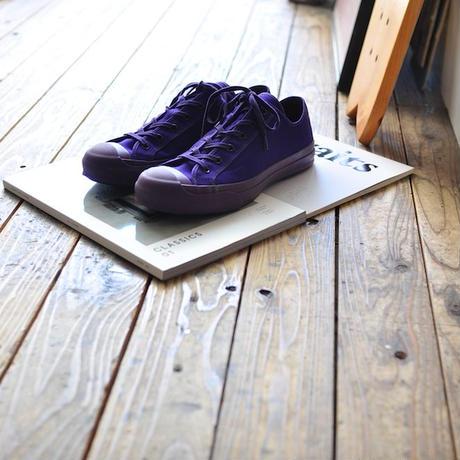 ☆  NEW ! / STUDIO NICHOLSON  /  Merino Vulcanised Sole Canvas Shoe (Ultra Violet) ☆