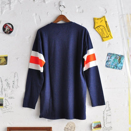 ★ 18AW NEW ! / HENRIK VIBSKOV - 72 LONG TEE (NAVY) ★