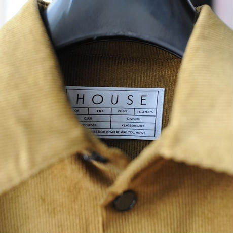 ★ House of the very island's (ハウスオブザベリーアイランズ) /  X-LONG SHIRT WITH PARKA DETAIL ★