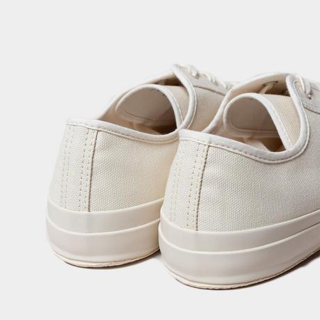 ☆  19AW / STUDIO NICHOLSON  /  Merino Vulcanised Sole Canvas Shoe (CREAM) ☆