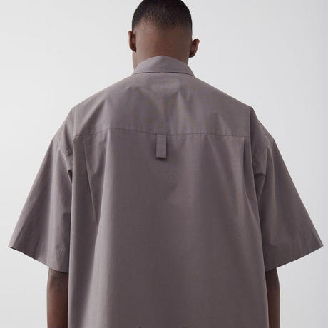 "☆  20SS / STUDIO NICHOLSON  /  "" SORONO "" OVERSIZED SHORT SLEEVE SHIRT  (LEAD/SIZE:M) ☆"